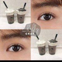 ORIGINAL Softlens Kitty Kawaii MINI KELLY GREY GRAY soflens softlense