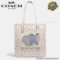 Coach Tote Bag X Disney Dumbo Tote - Tas Coach Original Authentic !