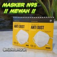 MASKER N95 Murah - non 3M ANTI POLUSI VIRUS CORONA