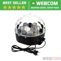 Lampu Proyektor Disko AGM Crystal Magic Ball Disco LED 20W Colorful