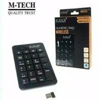 Keyboard Numeric Wireless M-Tech - Keyboard Numerik Keypad