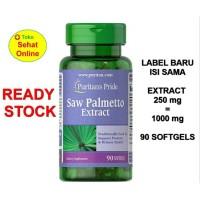Puritan Puritan s Pride Saw Palmetto Palmeto Extract 1000mg 90 Sg