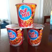 Mie Instan Cup Pop Mie Pedas Dower 75gr