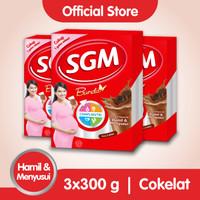Paket 3 - SGM BUNDA Minuman Ibu Hamil & Menyusui Coklat 300g