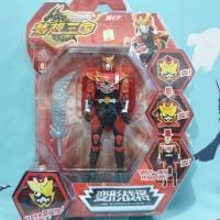 robot legend hero set hero piece & robot mainan anak kreatif