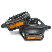 PROMEND Pedal Sepeda Aluminium Anti-Slip - JT410 - Black