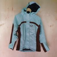 jaket outdoor wanita JACK WOFLSKIN original gunung hiking tracking