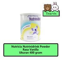 NUTRICIA Nutrinidrink Susu Vanilla Tin - 400gr