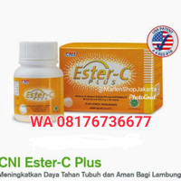 READY ESTER C PLUS 40 tablet Box CNI VITAMIN C 500MG