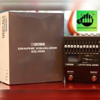 EFEK GITAR BOSS EQ-200 Equalizer Guitar Effect Processor