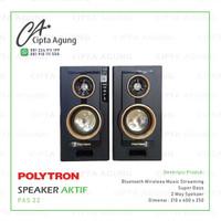 SPEAKER AKTIF BLUETOOTH POLYTRON PAS 22