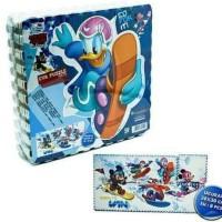 Puzzel alas lantai Evamats asli printing Disney Micky