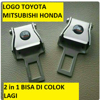 colokan safety belt/ seatbelt /colokan sabuk pengaman mobil 2 in 1