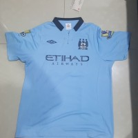 Jersey Manchester City 2012 Nameset Aguero