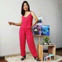 Setelan Celana Panjang Atasan Set Murah Big Size oleh oleh bali