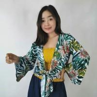 new product baju atasan cardigan ikat kardigan oleh oleh bali