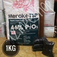 PUPUK MEROKE TSP / TRIPEL SUPER POSPAT / PHOSPHAT / FOSFAT REPACK