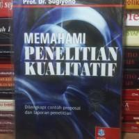 Buku Memahami Penelitian Kualitatif