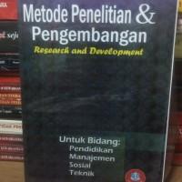 Buku Metode Penelitian & Pengembangan