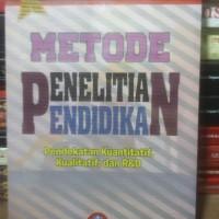 Buku Metode Penelitian Pendidikan