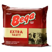 Keju Cheddar Extra Tasty Bega 250 G