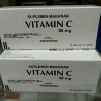 Vitamin C 50mg Kimia Farma per 1box