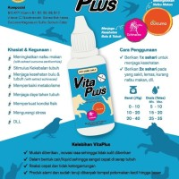 vitamin vita plus20 ml buat hewan kesayangan biar tetap fiit