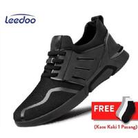 Leedoo Sepatu Sneakers Pria Import Men Shoes Young Lifestyle F15