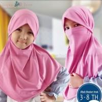 jilbab instan masker anak anak