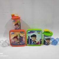 Paket hemat souvenir ulangtahun bingkisan anak kotak makan bekal Tumbl