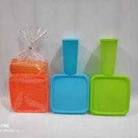 Paket souvenir ultah kotak makan 3 sekat & gelas paket murah bingkisan