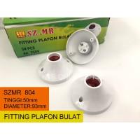 Fitting Lampu Plafon Bulat SZMR 804 / Fitting Flafon Bulat