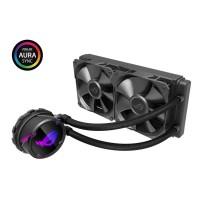ASUS ROG STRIX LC 240 AIO Liquid CPU Cooler with Aura Sync RGB