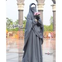 Gamis Abaya Set Khimar Jubah Wanita Plus Cadar