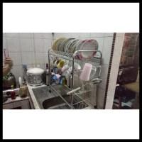 Banting Harga Rak Piring / Rak Serbaguna / Rak Gantung Wastafel