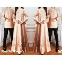 EL GROS 5 - Habibie & Ainun couple, maxi tangan panjang + kemeja