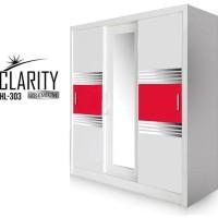 Clarity Premium Lemari Pakaian 3 Pintu Sliding Hl 303 Satriabudi802