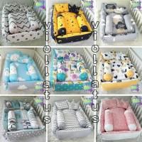 Kasur Bayi Baby Nest Kotak Dan Bantal Guling Bayi Banpey Kado Hamil