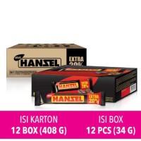 Nabati Hansel Hazelnut Chocolate Bar Snack 38 gr (12 pcs) Terjamin
