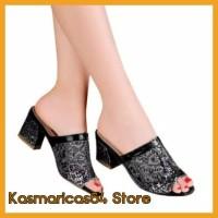 Ready Sendal Wanita Sepatu High Heels Wanita Cewe Pesta Hak Tinggi