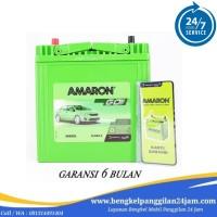 AKI ACCU Honda Jazz NS40ZL-MF Kering 35 Ah/38B20L Amaron GO