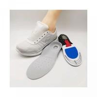 Wanita Silikon Insole Sepatu Pria Olahraga Bahan Gel untuk