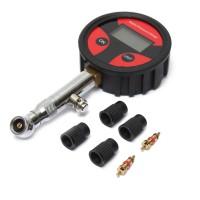 0-200PSI Metal Digital Tire LCD Manometer Air Pressure Gauge
