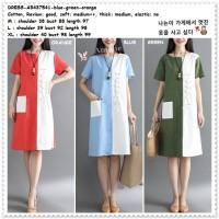 AB437541 Mini Dress Casual Wanita Korea Import
