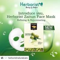 Masker Wajah Herborist Zaitun Facial Mask 23 ml