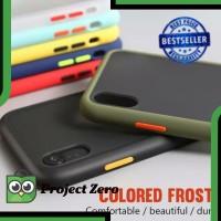 Hardcase Fuze Warna IPHONE X / XS Case Dove Transparan Slim Fuze