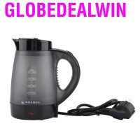 0.4L Mini Travel Transparent Electric Kettle Fast Water Heating