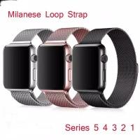 strap tali jam apple watch 42mm 44mm Milanese loop strap [TCM04]