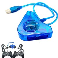 Stik/Stick PS2 PS 2 + Converter - Paket 2 stick + converter Double