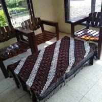 Promo! Taplak Meja Tamu Batik Persegi panjang